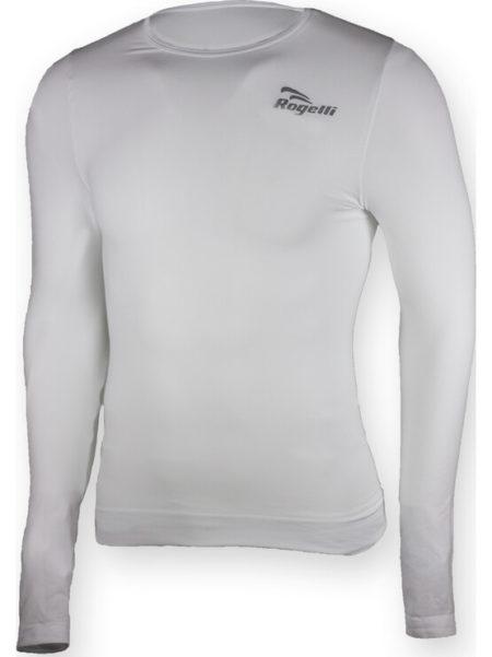 Rogelli Chase thermoshirt met lange mouw voor kids wit