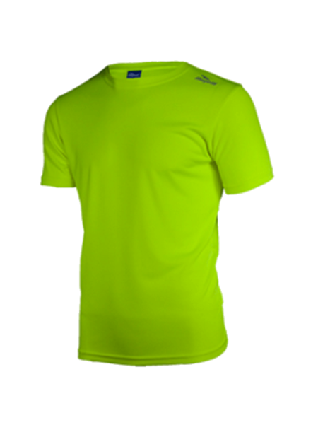 Rogelli Promotion Hardloopshirt kids Fluor/geel