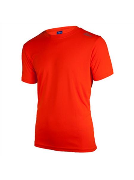 Rogelli Promotion Hardloopshirt korte mouwen Kids oranje