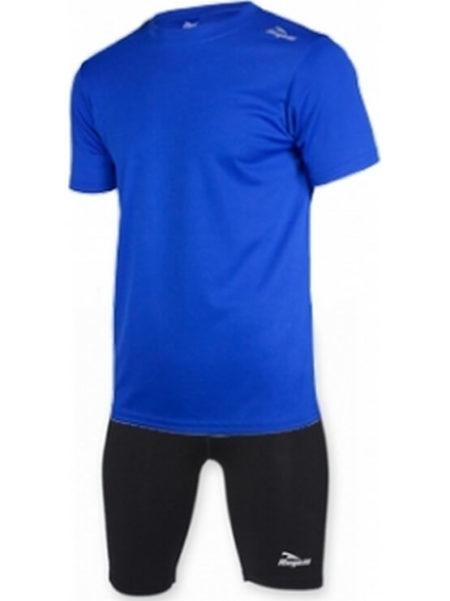 Rogelli Promotion San Diego kledingset kids kort zwart / blauw