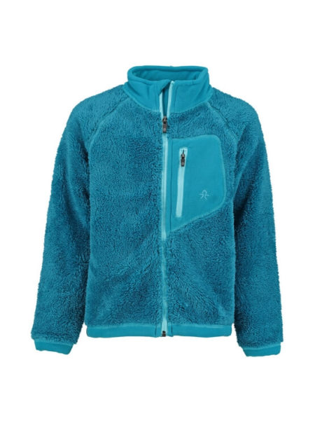 Color kids fleece vest Burma Blauw