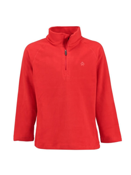 Color Kids rood fleece skipully Sandberg sneldrogend