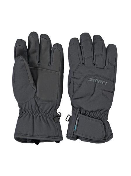 Ziener zwarte ski handschoenen Lizzard waterproof