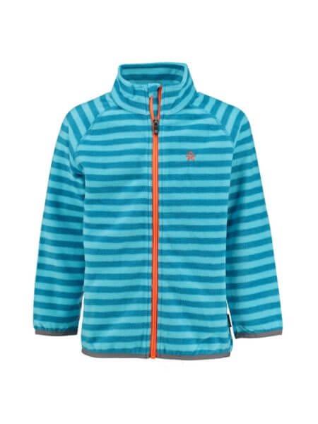 color-kids-blauw-gestreept-fleece-vest