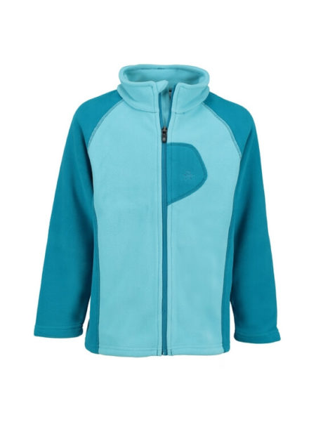 Color kids fleece vest Rafting lichtblauw