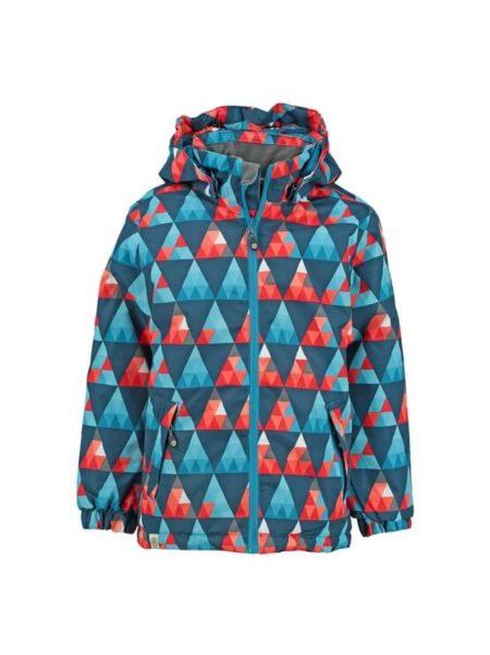 Color Kids ski jas rood/blauw Saigon