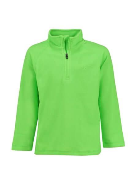 color-kids-green-gecko-fleece-pully-sandberg-f