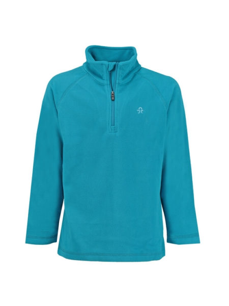 Color Kids blauw fleece skipully Sandberg sneldrogend