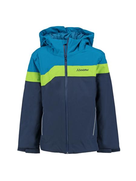 Schöffel blauw / groene kinder ski jas Den Haag