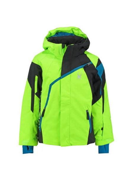 Spyder bryte groene ski jas Boy's Challenger