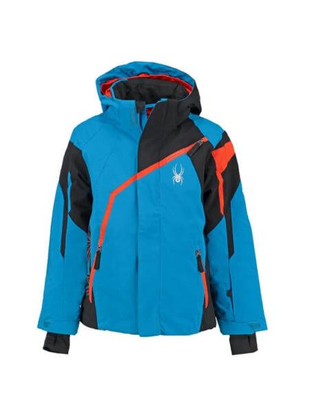 Spyder blauwe ski jas Boy's Challenger