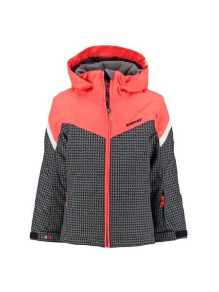 ziener-zwart-koraal-rode-meisjes-ski-jas-amatie-f