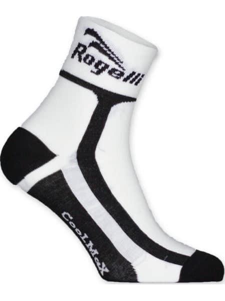 Rogelli RCS-03 wielersok zomer combinatie wit zwart