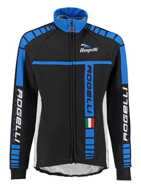 Rogelli umbria blue wielershirt kind long sleeve f 555