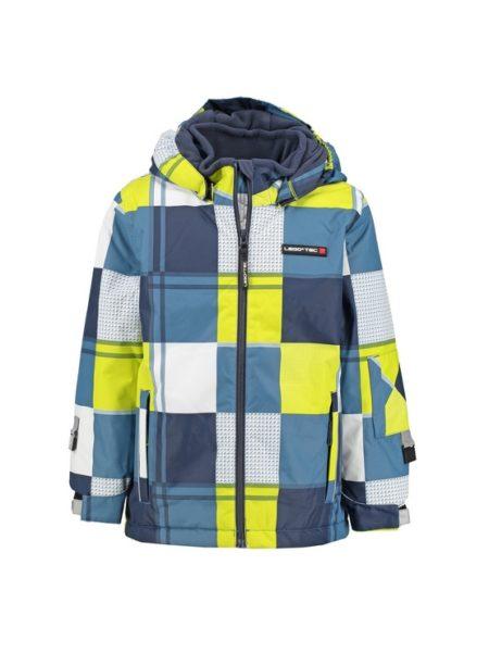 Jongens ski jas Lego Wear Blauw/Geel 10.000mm waterkolom