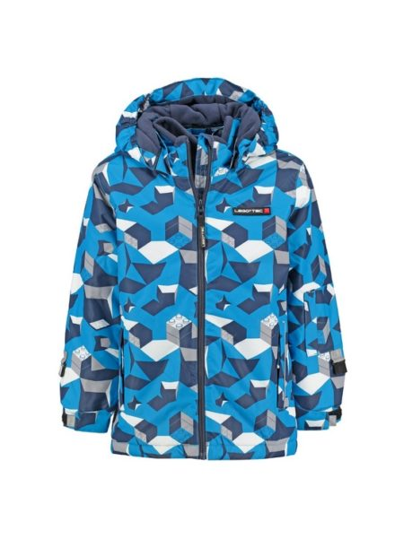 Jongens ski jas Lego Wear blauw 10.000mm waterkolom