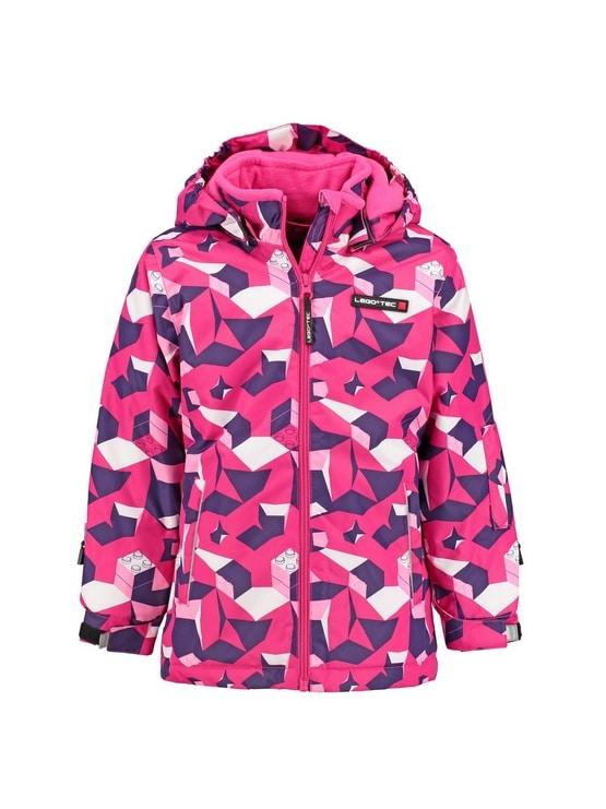 Lego Ski jas meisjes roze Jenny Voorkant