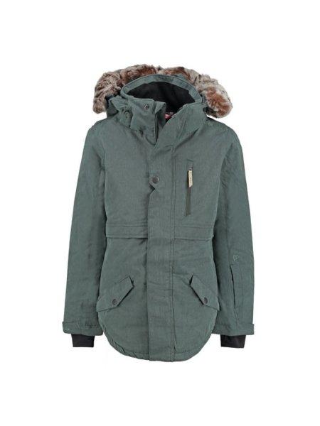 brunotti forest groene meisjes ski jas jupitera voorkant