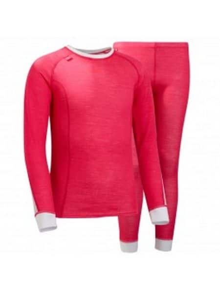 Helly Hansen pink thermo ondergoed set