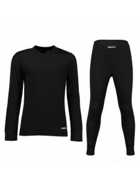 craft thermo ondergoedset zwart