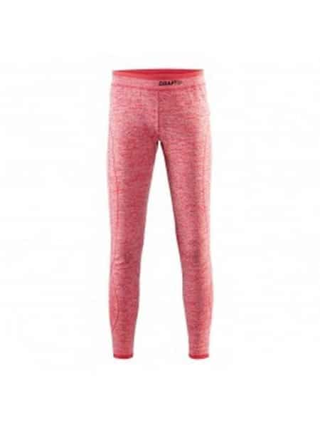 Craft active comfort thermo legging rood