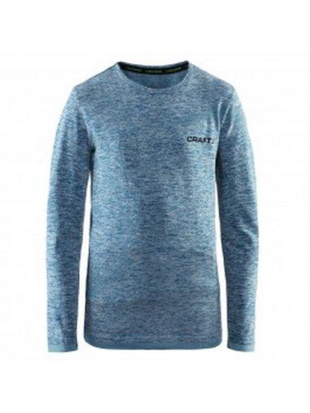 craft thermoshirt blauw voorzijde