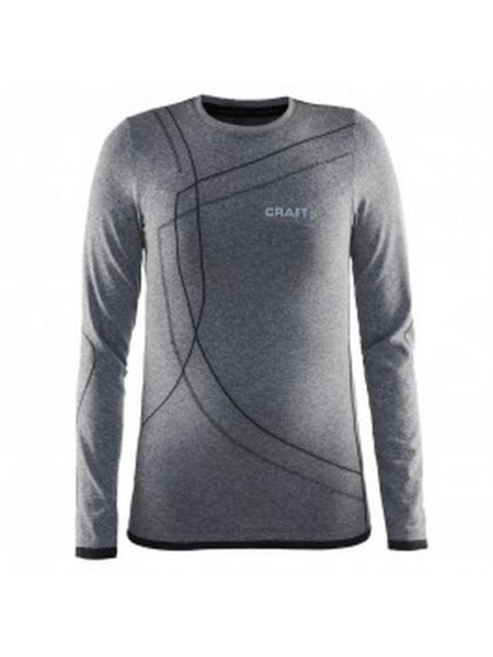 craft thermoshirt grijs voorzijde