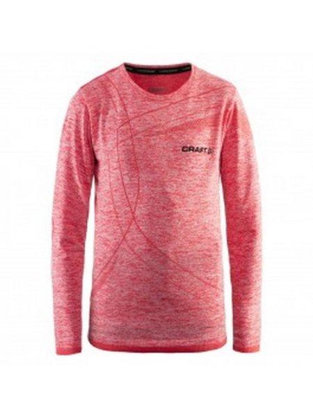 craft thermoshirt roze voorzijde