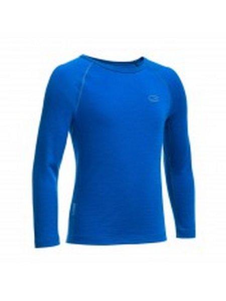 icebreaker blauw thermo shirt