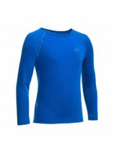 Icebreaker thermo shirt blauw
