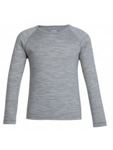 icebreaker grijs thermoshirt