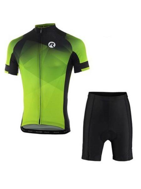 Rogelli fietskleding set Inspirato Zwart fluor